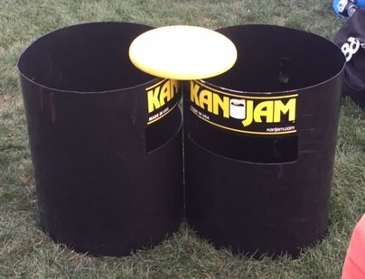 Kan Jam with Frisbee