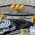 Spikeball on the beach