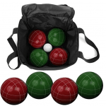 Best Bocce Ball Set Green Red