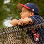 little league baseball kid