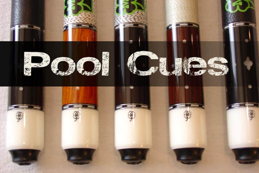 pool cues feature