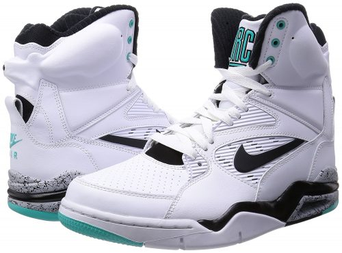The Nike Air Command Force basketball sneakers take on an old-school look  with features that can help you dominate on the court. One characteristic  of this ...