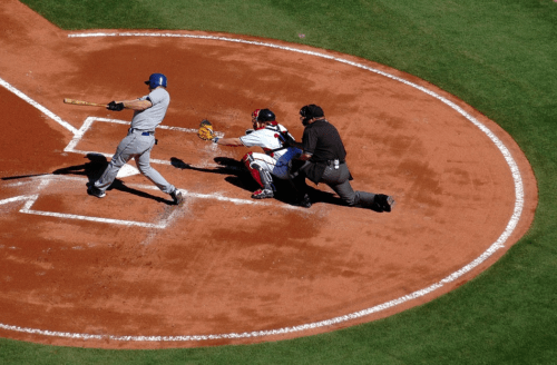 hitter, catcher and umpire- baseball rules