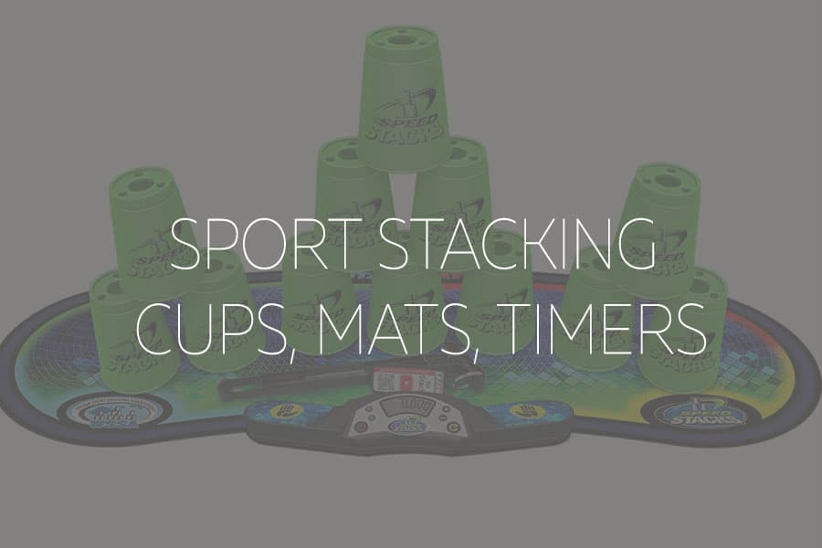 sport stacking timers and mats